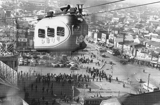 昭和20年代の渋谷駅前