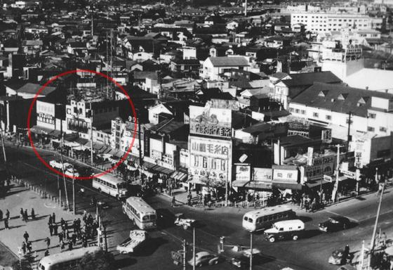 昭和20年代の西村フルーツパーラー