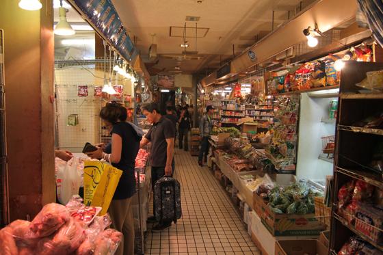 アメ横センタービル・地下食品街・その一