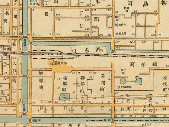 1900年頃の錦糸町