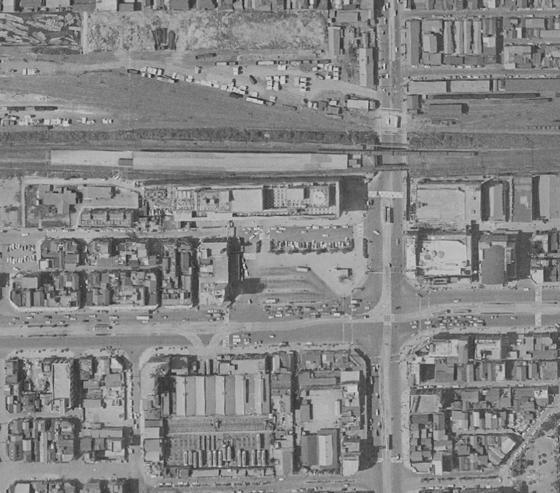 昭和38年頃の錦糸町駅前