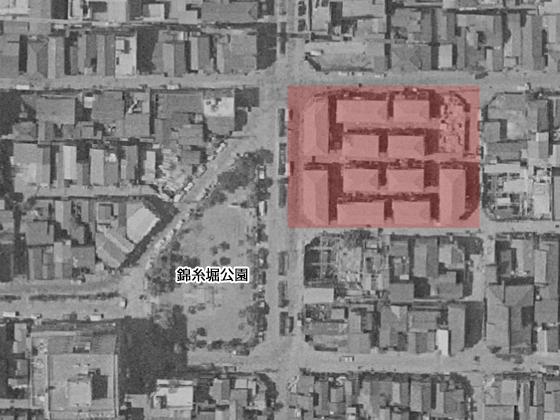 昭和38年頃の花壇街