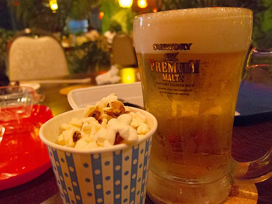 万世ビアガーデンビール