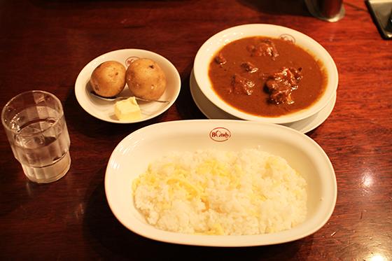ボンディ神田本店・チキンカレー