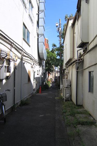 品川宿跡・路地