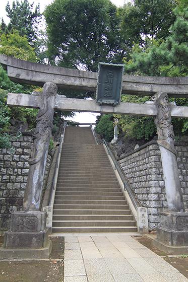 品川神社・参道