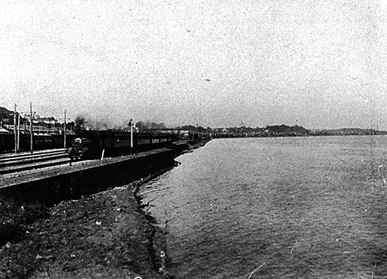 明治初期の品川駅
