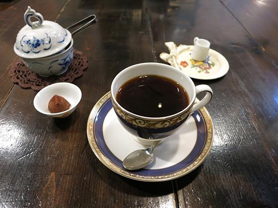 「喫茶 金魚坂」コーヒー